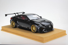 1/18 VAV Lexus RC F RCF Liberty Walk LB Wide Body Resin Enclosed Model (Black)