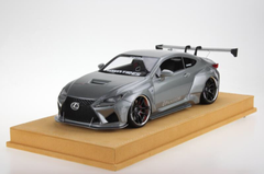 1/18 VAV Lexus RC F RCF Liberty Walk LB Wide Body Resin Enclosed Model (Grey)