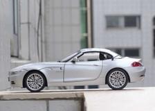 1/18 Kyosho BMW Z4 sDrive35i Convertible (E89) (Silver)