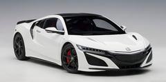 1/18 AUTOart Honda Acura NSX (White) Diecast Model