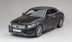 1/18 Dealer Edition Mercedes-Benz C-Class Coupe C-Klasse Cabriolet (Black) Diecast Model