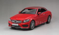 1/18 Dealer Edition Mercedes-Benz C-Class Coupe C-Klasse Cabriolet (Red) Diecast Model