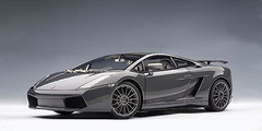 1/18 AUTOART LAMBORGHINI GALLARDO SUPERLEGGERA - GRIGIO TELESTO / METALLIC GREY Diecast Model 74583