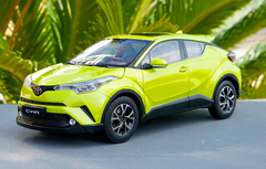 1/18 Dealer Edition Toyota C-HR CHR IZOA (Yellow) Diecast Model