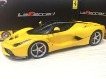 1/18 Hot Wheels Hotwheels Elite Ferrari LaFerrari (Yellow) Diecast Model