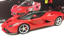1/18 Hot Wheels Hotwheels Elite Ferrari LaFerrari (Red) Diecast Model