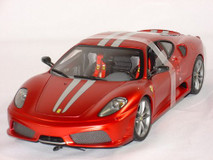 1/18 Hot Wheels Hotwheels Elite Ferrari F430 Scuderia 60th Anniversary DIecast Model