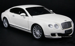 1/18 Minichamps Bentley Continental GT (White)