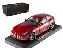 1/18 Hot Wheels Hotwheels Elite Ferrari FF (Red) Diecast Model