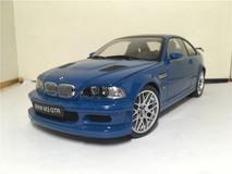RARE 1/18 Kyosho BMW E46 M3 GTR (Blue) Diecast Model