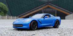 1/18 Maisto Chevrolet Chevy Corvette Z51 (Blue) Diecast Model