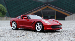 1/18 Maisto Chevrolet Chevy Corvette Z51 (Red) Diecast Model