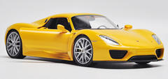 1/24 Welly FX Porsche 918 (Yellow) Diecast Model
