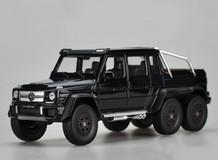 1/24 Welly FX Mercedes-Benz G-Class G63 6X6 (Black) Diecast Model