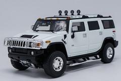 1/18 Highway 61 Highway61 Hummer H2 (White) Diecast Model