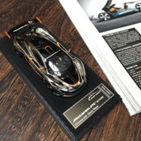 1/43 Almostreal Almost Real Mclaren P1 GTR (Chrome & Gloss Black) Diecast Car Model