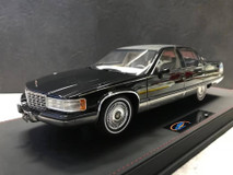 RARE 1/18 VAV 1993 Cadillac Fleetwood Brougham (Black) Resin Car Model