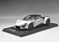1/18 Frontiart Sophiart Lykan Fenyr (Silver) Resin Car Model