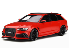 1/18 GTSpirit Audi RS6 ABT Avant C7 (Red) Resin Model Limited