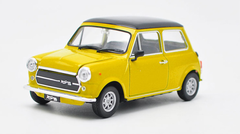 1/24 Welly FX Mini Cooper 1300 Mr. Bean (Yellow) Diecast Car Model