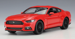 1/24 Welly FX Ford Mustang GT 5.0 (Red) Diecast Car Model
