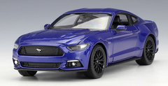 1/24 Welly FX Ford Mustang GT 5.0 (Blue) Diecast Car Model