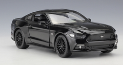 1/24 Welly FX Ford Mustang GT 5.0 (Black) Diecast Car Model