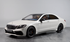 1/18 GT Spirit GTSpirit Mercedes-Benz S-Class S63 AMG (White) Resin Car Model