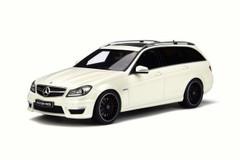 1/18 GT Spirit GTSpirit Mercedes-Benz C-Class C63 AMG Wagon (White) Limited Resin Car Model