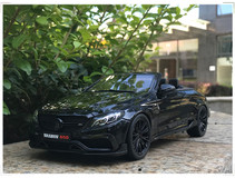 1/18 GT Spirit GTSpirit Mercedes-Benz C-Class C63 C63S AMG BRABUS 650 (Black) Limited 500 Resin Car Model