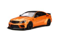 1/18 GT Spirit GTSpirit Mercedes-Benz C-Class C63 AMG W204 LB Libertywalk Widebody (Orange) Resin Car Model
