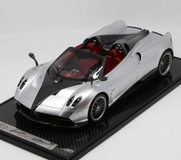 1/12 BBR Pagani Huayra Roadster (Silver w/ Black Rims) Limited 20 Resin Car Model