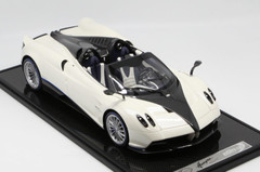 1/12 BBR Pagani Huayra Roadster (White w/ Silver Rims) Limited 20 Resin Car Model