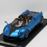 1/12 BBR Pagani Huayra Roadster (Blue w/ Blue Rims) Limited 20 Resin Car Model