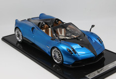 1/12 BBR Pagani Huayra Roadster (Blue w/ Silver Rims) Limited 20 Resin Car Model