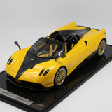 1/12 BBR Pagani Huayra Roadster (Yellow w/ Yellow Rims) Limited 20 Resin Car Model