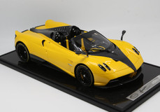 1/12 BBR Pagani Huayra Roadster (Yellow w/ Black Rims) Limited 20 Resin Car Model