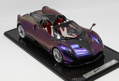 1/12 BBR Pagani Huayra Roadster (Holographic w/ Silver Rims) Limited 20 Resin Car Model