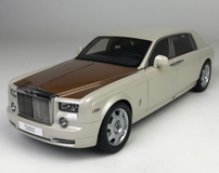 1/18 Kyosho Rolls-Royce Phantom EWB Dragon Year Special Edition (White) Diecast Car Model