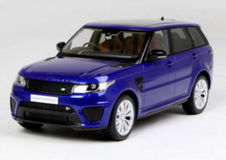 1/18 Kyosho Land Rover Range Rover Sport (Blue) Diecast Enclosed Car Model