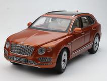 1/18 Kyosho Bentley Bentayga (Orange) Diecast Car Model