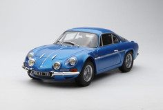 1/18 Norev 1971 Renault Alpine A110 1600S (Blue) Diecast Car Model