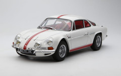 1/18 Norev 1971 Renault Alpine A110 1600S (White) Diecast Car Model