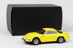 1/18 Kyosho Renault Alpine A110 1600S (Yellow) Diecast Car Model