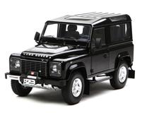 1/18 Kyosho Land Rover Defender 90 Short Wheelbase (Black) Diecast Car Model