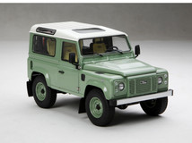 1/18 Kyosho Land Rover Defender 90 Short Wheelbase (Green) Diecast Car Model