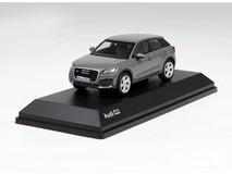 1/43 Dealer Edition Audi Q2 (Grey) Enclosed Diecast Car Model
