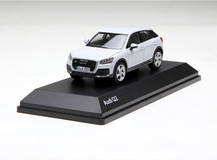 1/43 Dealer Edition Audi Q2 (White) Enclosed Diecast Car Model