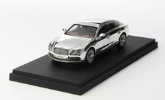 1/43 Kyosho Bentley Continental Flying Spur (Chrome) Enclosed Diecast Car Model