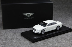 1/43 Kyosho Bentley Continental Flying Spur (White) Enclosed Diecast Car Model